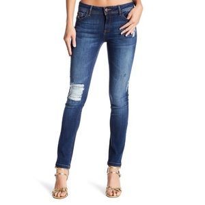 Distressed DL 1961 Denim Jeans